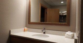 New Bathrooms, New Door Locks