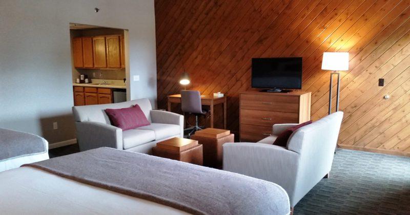 New & Improved Treetops Inn Rooms