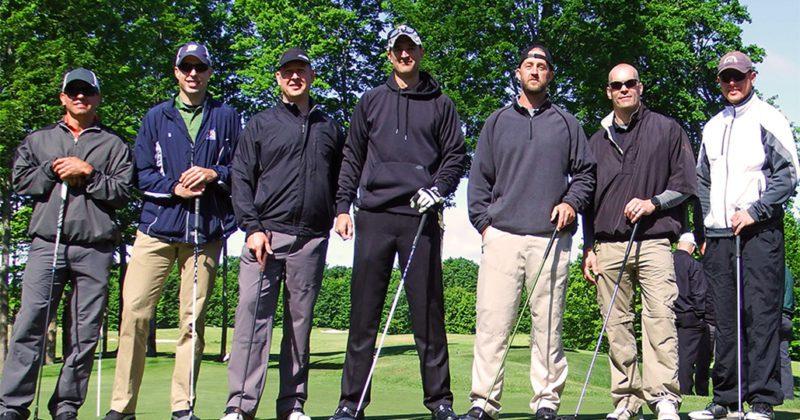 Group golf at Treetops Resort