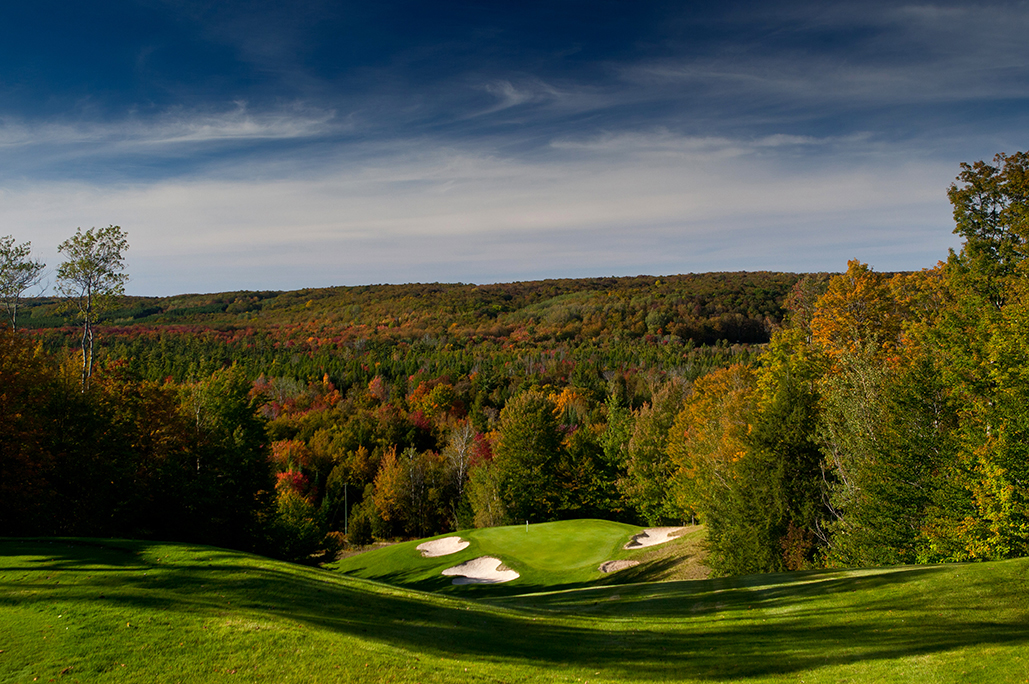 Treetops Resort in the fall