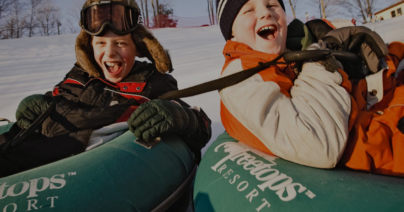 Snow Tubing | Seasonal Activities | Treetops Resort