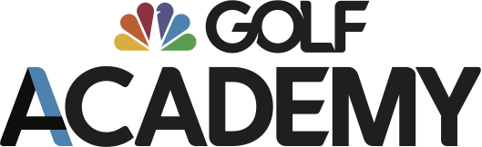 Brigh;ty colored logo for the Golf Channel Academy