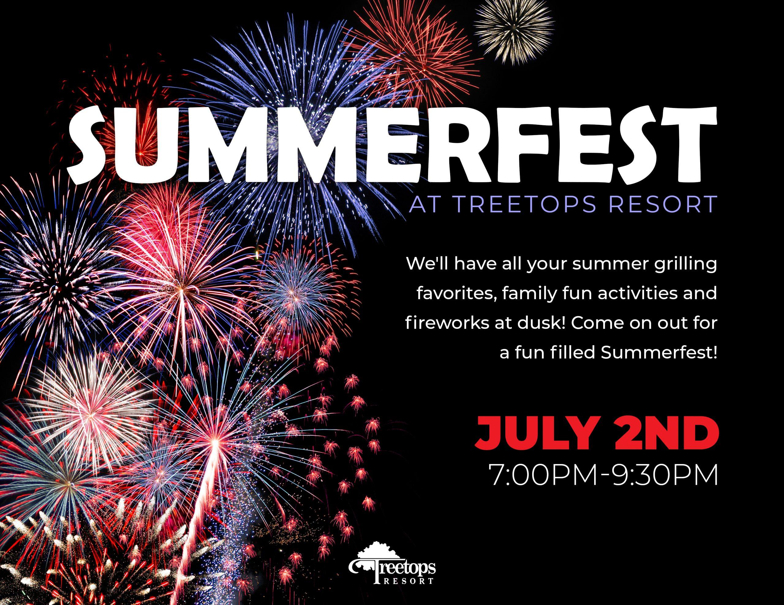 Summerfest at Treetops