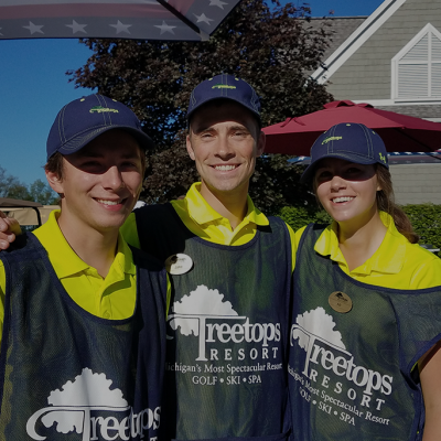 friendly golf resort staff in Gaylord, Michigan