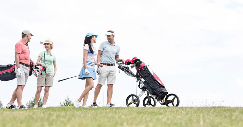 Get Lucky Couples Golf and Spa Package