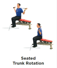 Seated Trunk Rotation