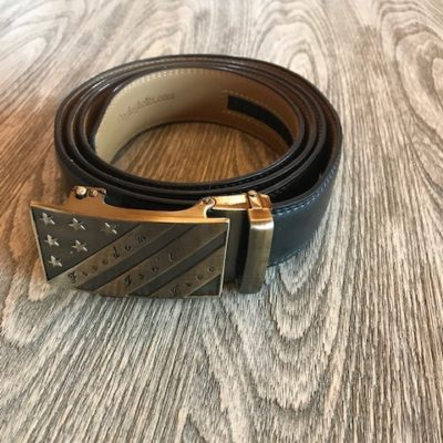 Black with Freedom Isn't Free Buckle