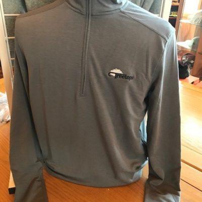 UNDER ARMOUR – Men's Drive ½ Zip Fleece (Zinc Gray)