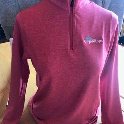 UNDER ARMOUR – Women's Zinger ¼ Zip (Pink)