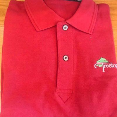 VANTAGE – Men's Shirts Vansport Tournament Polo (Red)