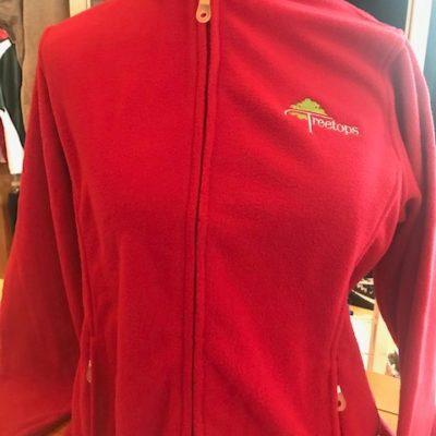 VANTAGE – Women's Fleece Outerwear (Red)