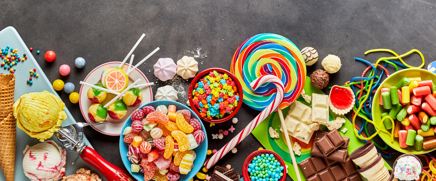 An assortment of colorful candies to enjoy at Candy Bar 81 at Treetops Resort.