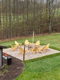 Lodge Deck and Chairs