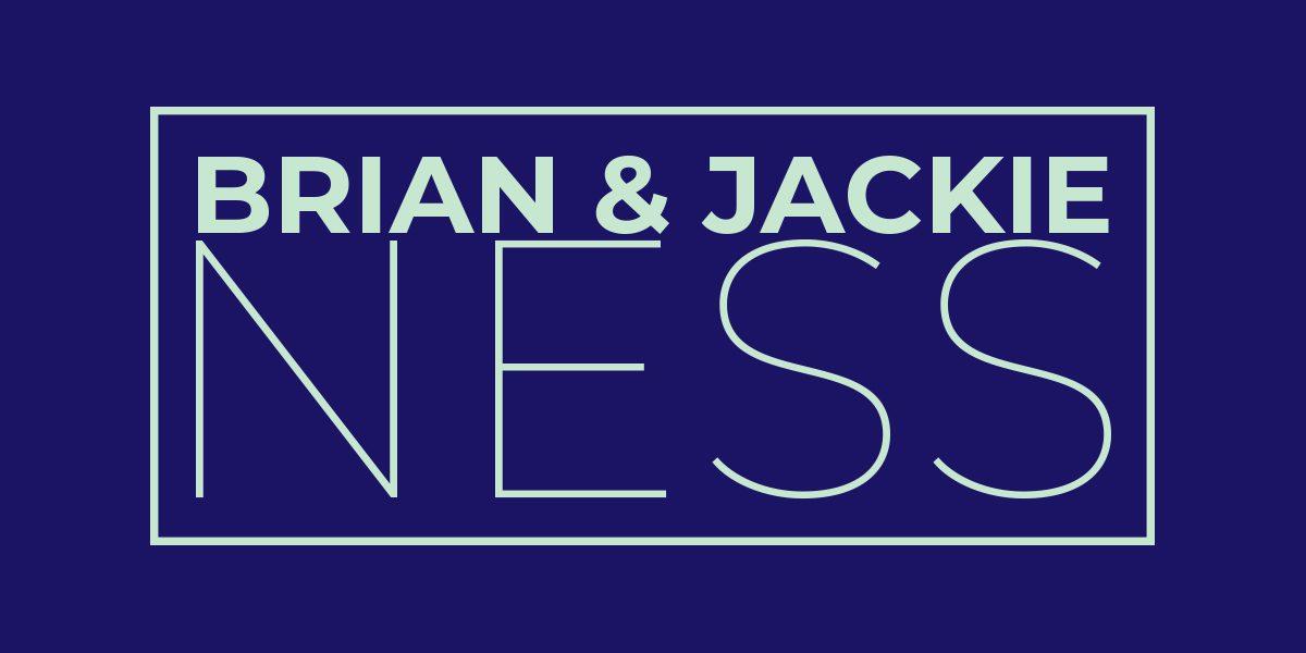 Brian Jackie Ness Sponsorship